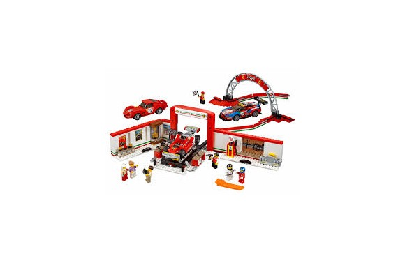 LEGO Speed Champions - Ultimativt Ferrari-værksted (75889)
