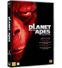 Planet of the Apes Collection (5-disc) - DVD