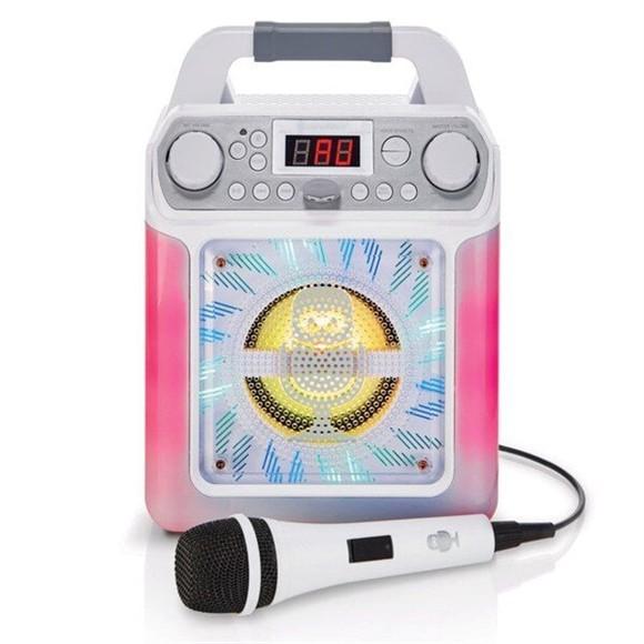 Singing Machine - Groove Mini White (50-00533)