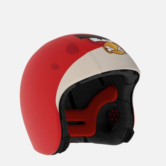 EGG Helmet - Skins Overtræk - Angry Birds - Rød fugl