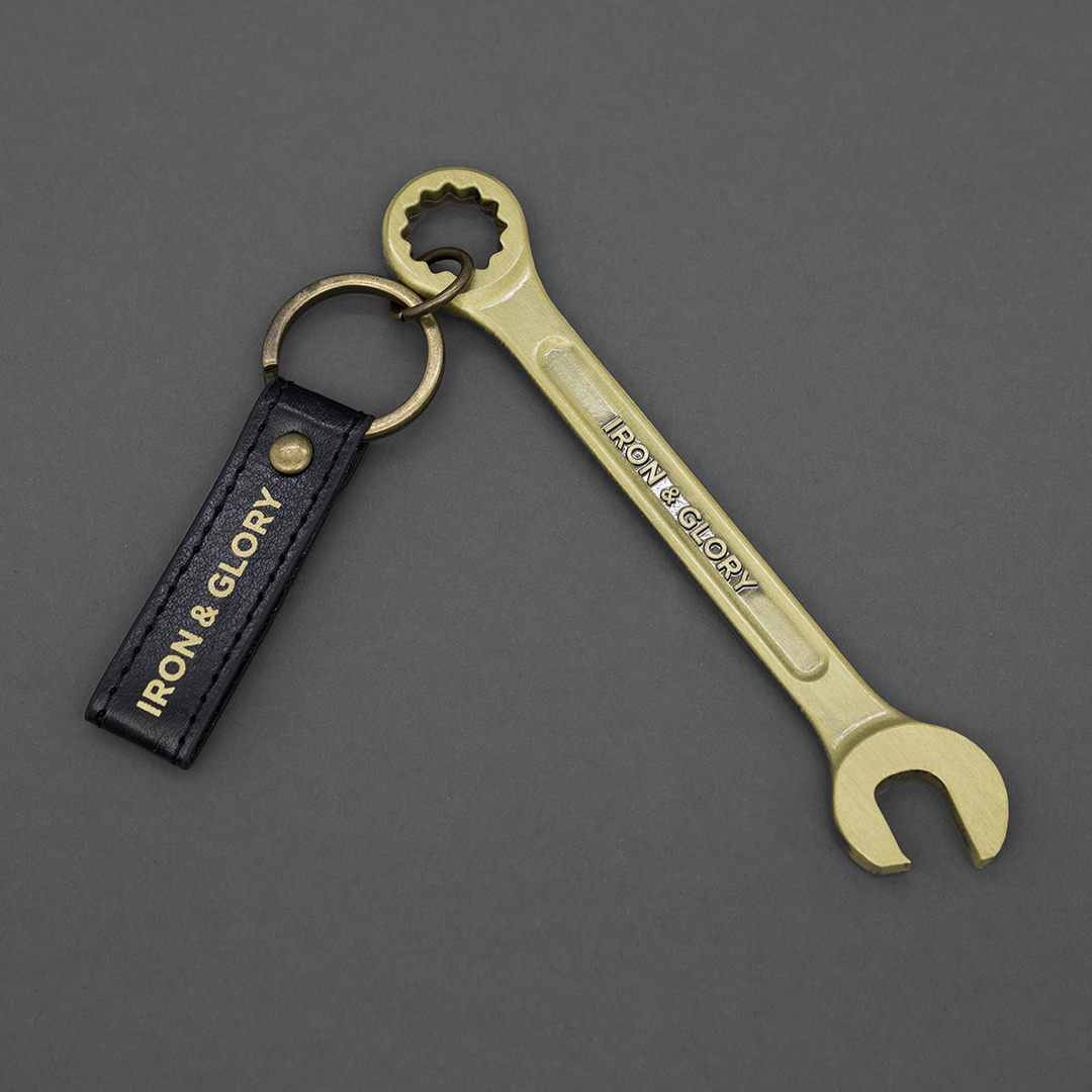 Iron & Glory - Gold Wrench Beer Bottle Opener