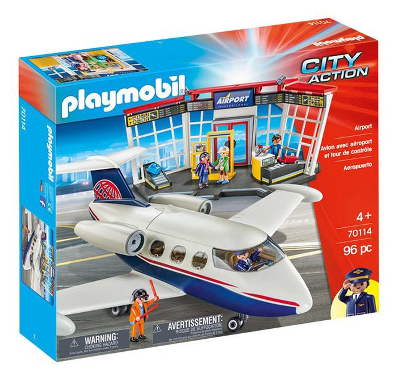 Playmobil - Club Set Airport (70114)