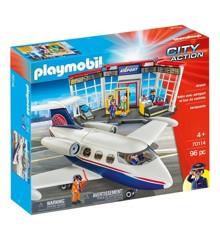 Playmobil - Club Set Lufthavn (70114)
