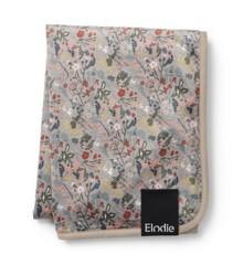 Elodie Details - Fløjls Tæppe - Vintage Flower