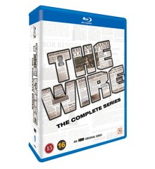 The Wire - Den Komplette Serie (Blu-Ray)
