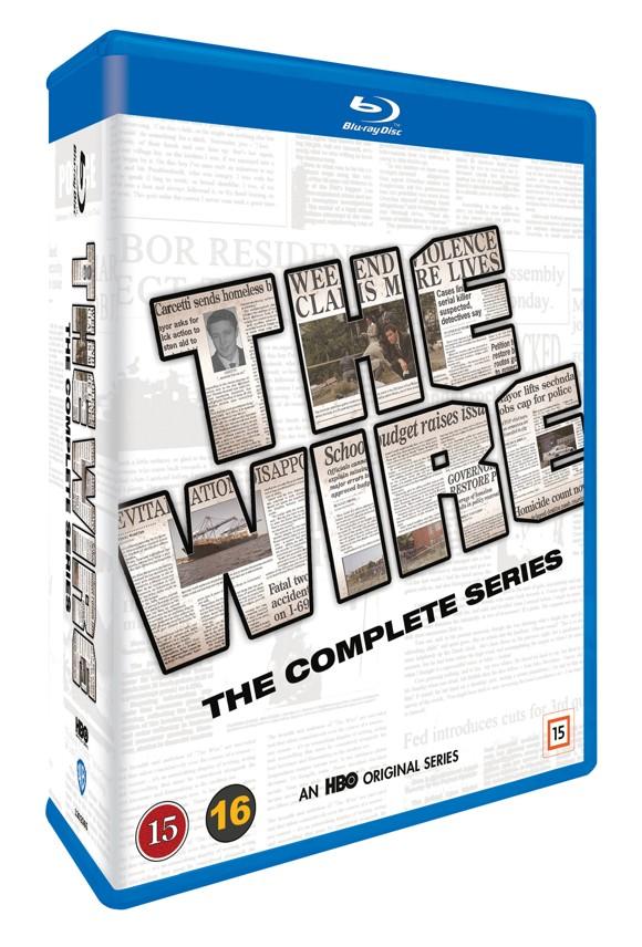 The Wire - Den Komplette Serie (Blu-Ray)