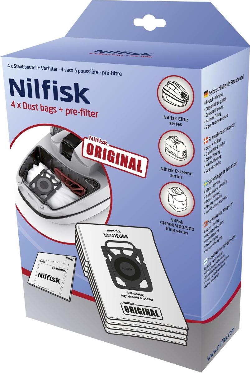 Nilfisk - Støvposer til Elite 4STK