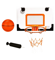 Newport mini basketball bord med ring, bold, pumpe 16NA