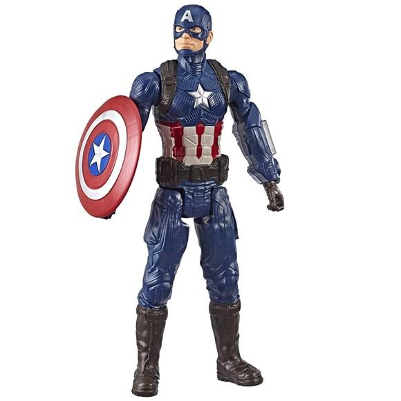 Avengers - Titan Hero Movie Figure - Captain America (E3919)