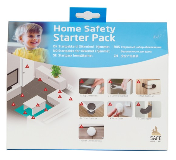 SAFE - Home Safety Startpakke