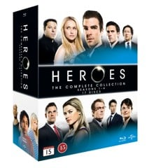 Heroes: Complete Box - Season 1-4 (17 disc)(Blu-Ray)