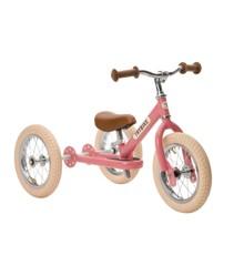 Trybike - Steel Balanscykel 3-Hjul, Vintage pink