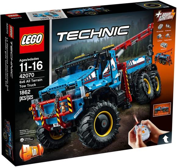 LEGO Technic - 6x6 All Terrain Tow Truck (42070)