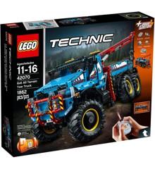 LEGO Technic - Sekshjulet terrængående kranvogn (42070)