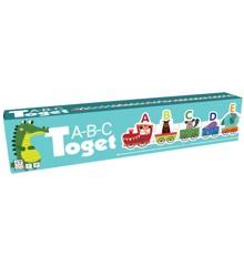 Barbo Toys - Puslespil - ABC Tog med Dyr (DK)