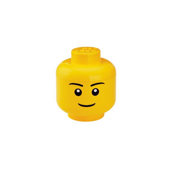 Room Copenhagen - LEGO Opbevaringshoved Dreng - Small
