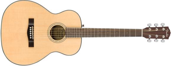 Fender - CT-140SE - Akustisk Travel/Rejse Guitar (Natural)