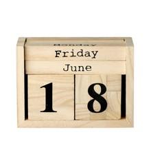 Bloomingville - Kalender Dices