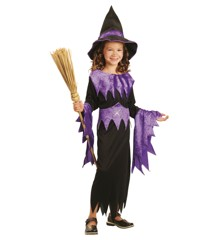 Witch - Childrens Costume  (122-134) (94065-4)