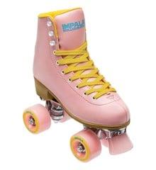 Impala - QUAD Rollerskate  - Pink/Yellow - (US 6 /EU 37)
