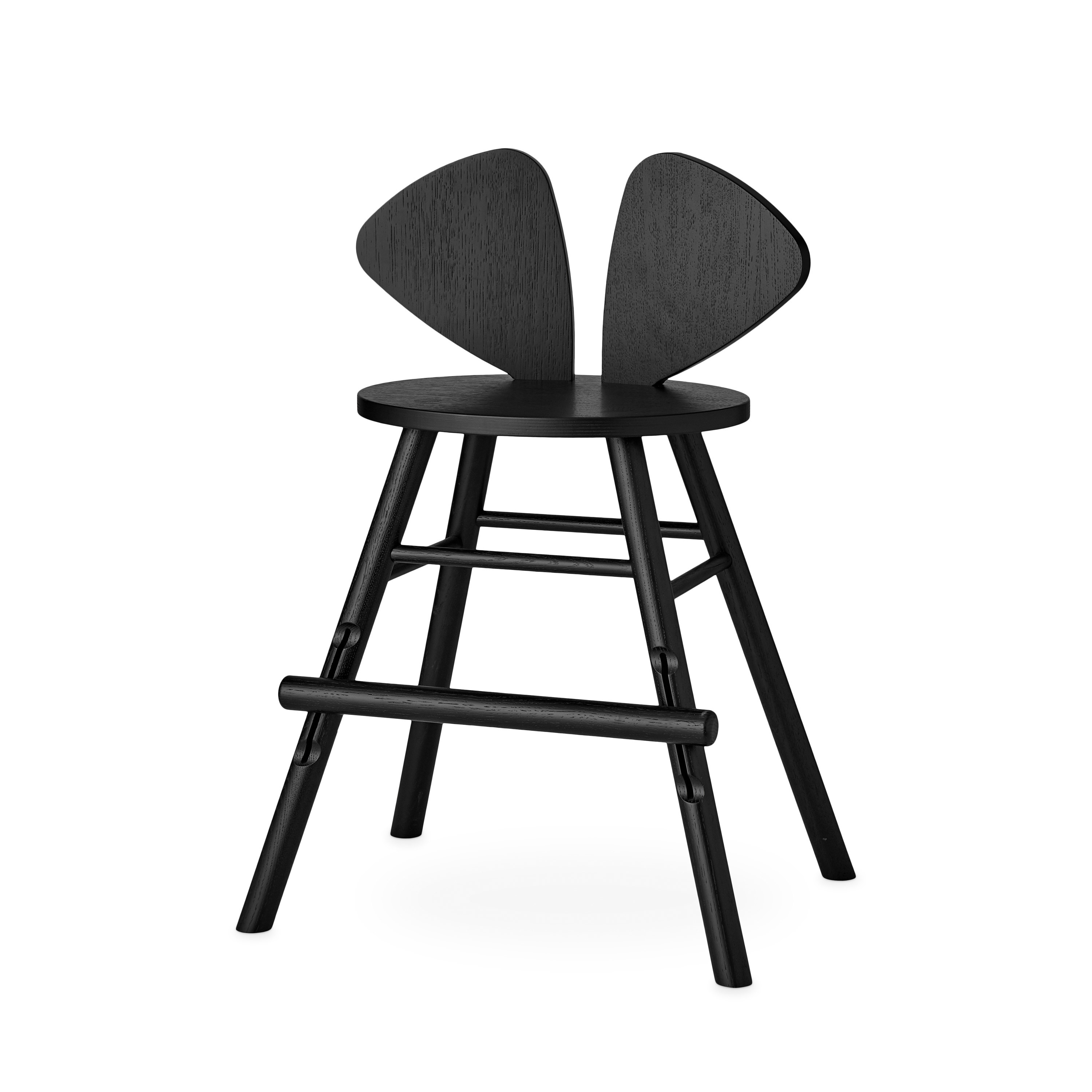 Nofred - Mouse High  Chair Junior - Black