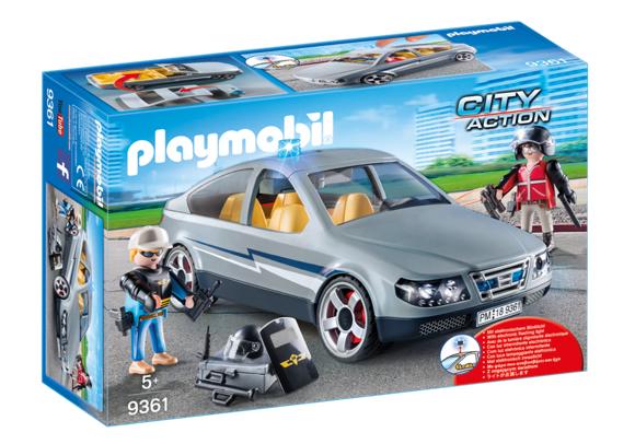 Playmobil - SWAT Undercover Car (9361)