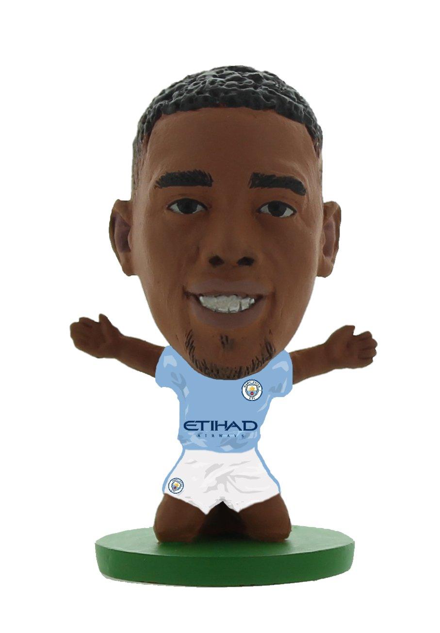 Soccerstarz - Man City Gabriel Jesus - Home Kit (2020 version)