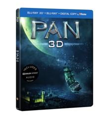 Pan - Limited Steelbook (3D Blu-Ray)