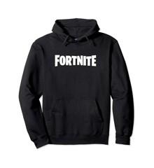 FORTNITE Black Logo Hoodie Size L