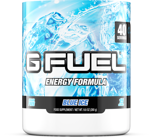 G Fuel - Blue Ice Tub - 40 Servings