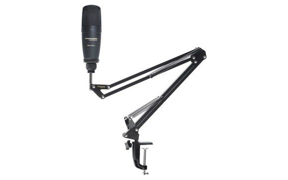 Marantz - Pod Pack 1 - USB Microphone With Broadcast Stand & Cable (DEMO)