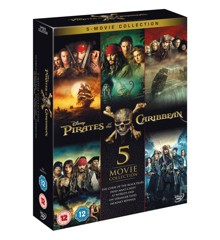 Pirates of the Caribbean 1-5 - DVD (UK)