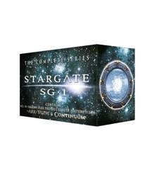 Stargate SG:1 - Season 1-10 + 2 Film (60 disc)(Import - Dk. Tekst) - DVD