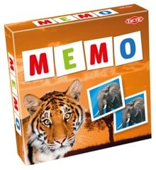 Tactic - Memory spil - Vilde dyr
