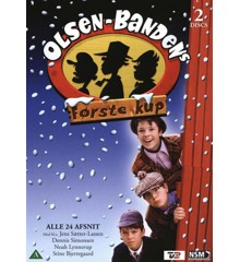 Olsen-Bandens første kup (2-disc) - DVD