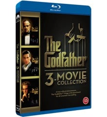 The Godfather 1-3 - Movie Collection (3 disc)(Blu-Ray)