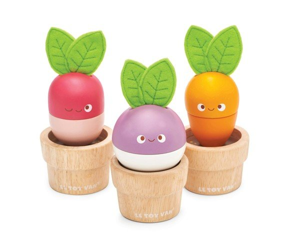 Le Toy Van - Stacking Veggies (LPL121)