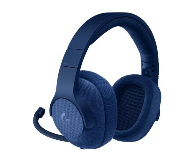 Logitech - G433 7.1 Surround Gaming Headset Blue