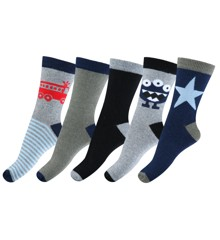 Melton - Numbers 5 pck Boys Socks