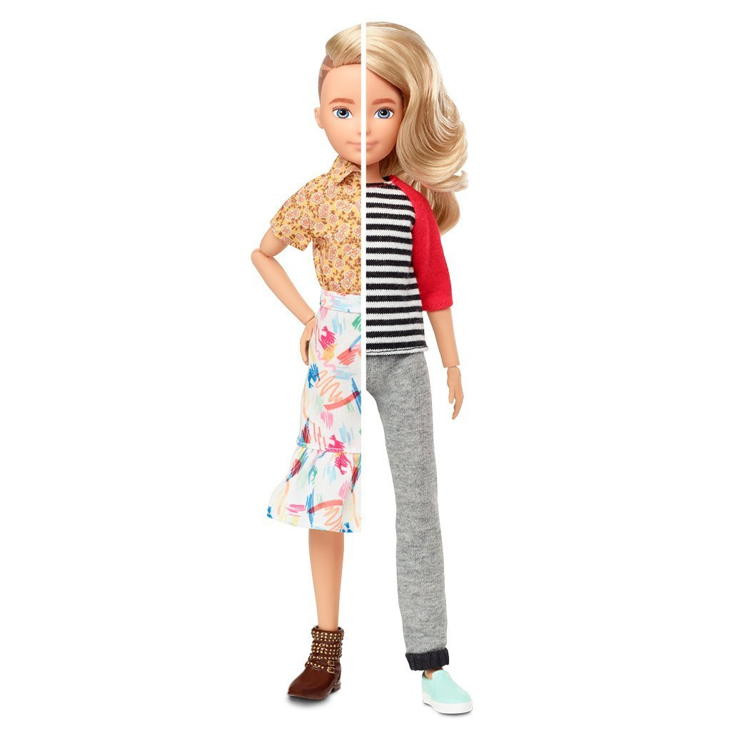 Creatable World - Deluxe Character Doll - Blond Hair (GGT67)