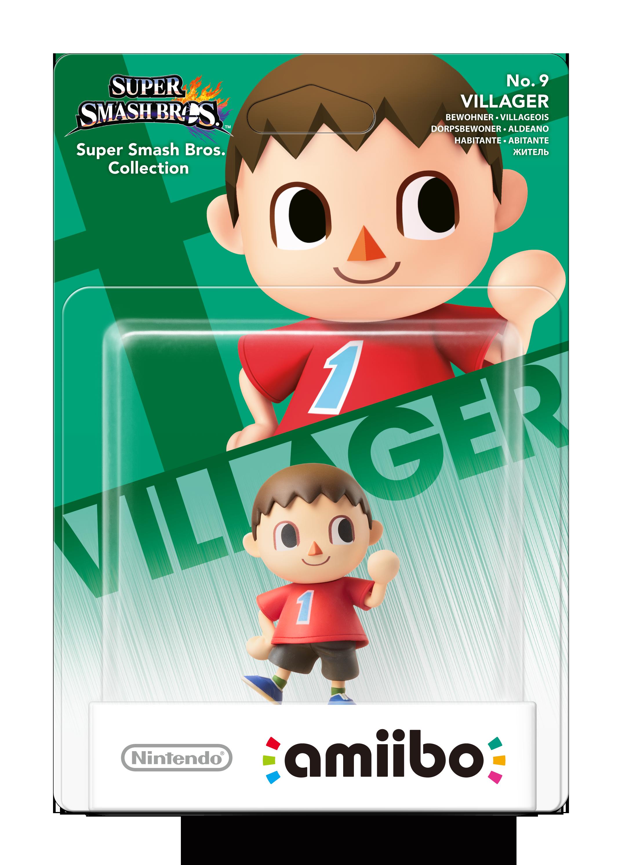 Nintendo Amiibo Figurine Villager