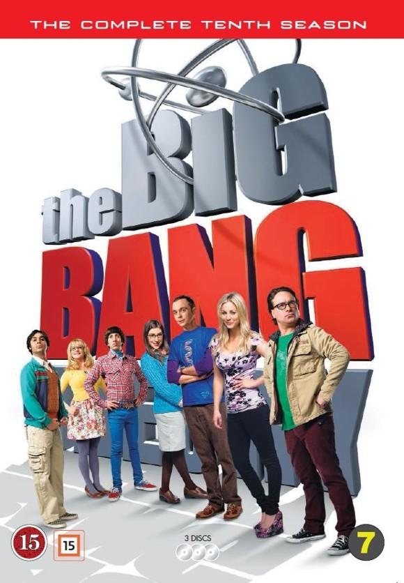 Big Bang Theory, The - Sæson 10 - DVD