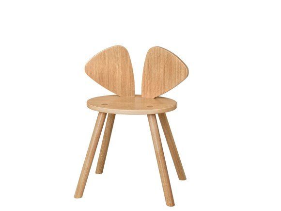 Nofred - Mouse School Chair - Oak