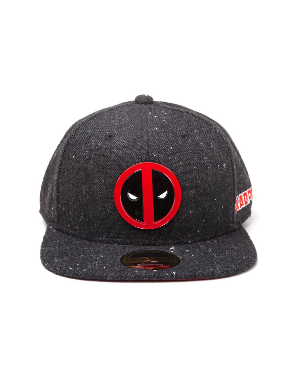 Deadpool - Metal Badge Logo Snapback (One-size)