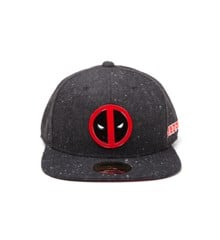 Deadpool - Metal Badge Logo Snapback (One-size)