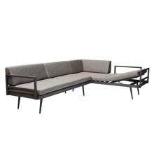 Cinas - Rio Lounge Sæt á 2 sofaer - Grå