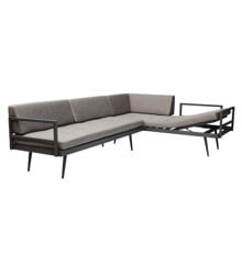 Cinas - Rio Lounge Set of 2 sofas -  Anthracite (4612133)