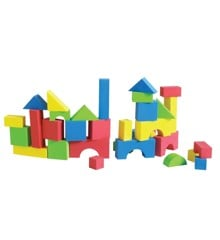 Edushape - Edu-Color Blocks, 80pcs (716076)