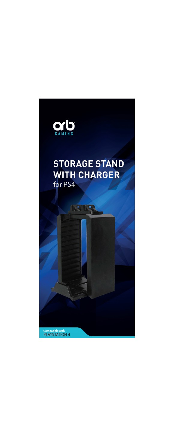 Playstation 4 Disc Storage Kit incl. Charger