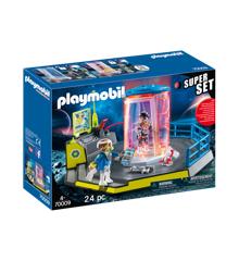 Playmobil - SuperSet Rumpoliti med fængsel (70009)